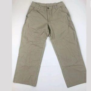 Patagonia Organic Cotton khaki Pants 32 X 28 (G8)
